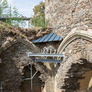 Château de Ségur le Château - chantier par SOCOBA