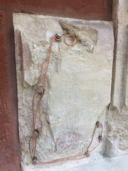 Armature pour mortier pierre