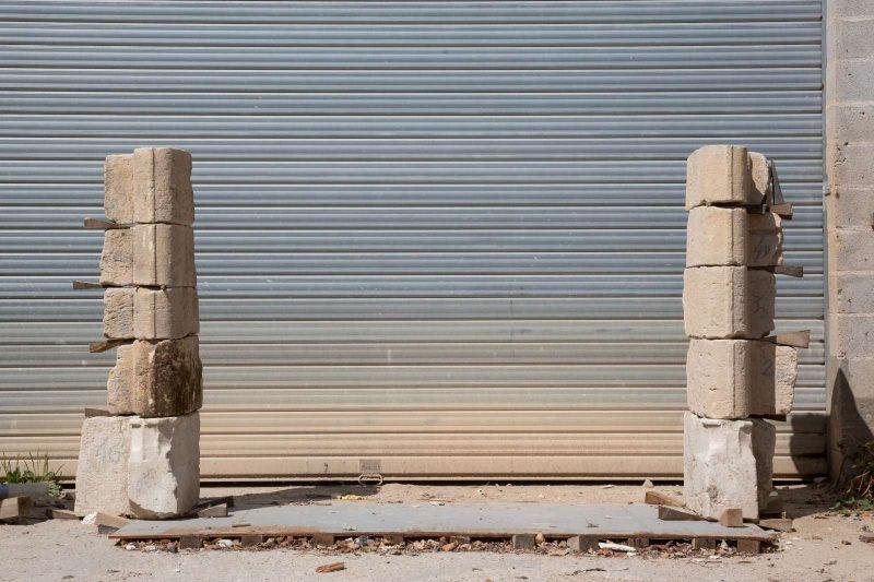 Piédroits cheminée renaissance